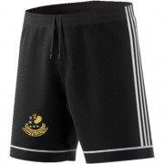 Ribblesdale Wanderers Cricket and Bowling Club Adidas Black Training Shorts