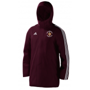 Great Brickhill CC Maroon Adidas Stadium Jacket