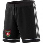 Cudham Wyse CC Adidas Black Junior Training Shorts