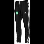 Stainborough CC Adidas Black Junior Training Pants