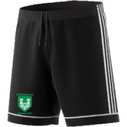 Stainborough CC Adidas Black Junior Training Shorts