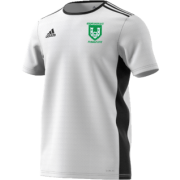 Stainborough CC Adidas White Junior Training Jersey