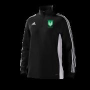 Stainborough CC Adidas Black Junior Training Top