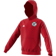 Hooton Pagnell CC Adidas Red Junior Hoody