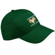 Airedale CC Green Baseball Cap
