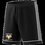 Airedale CC Adidas Black Training Shorts