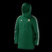 Airedale CC Green Adidas Stadium Jacket