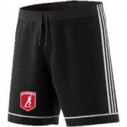 Cottage Maurice CC Adidas Black Junior Training Shorts