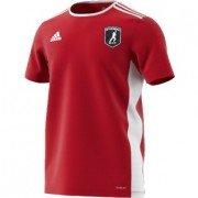 Cottage Maurice CC Adidas Red Junior Training Jersey