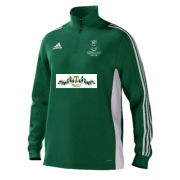 Swansea University CC Adidas Green Training Top