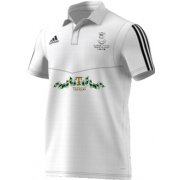 Swansea University CC Adidas White Polo