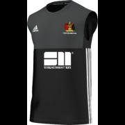 Aberystwyth CC Adidas Black Training Vest