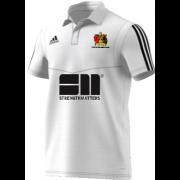 Aberystwyth CC Adidas White Polo