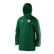 Harlow CC Green Adidas Stadium Jacket