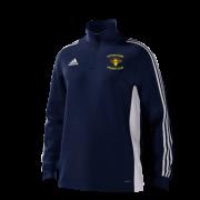 Potton Town CC Adidas Navy Junior Training Top
