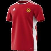 Wheldrake CC Adidas Red Junior Training Jersey