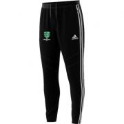 Abingdon Vale CC Adidas Black Training Pants