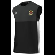 Eastwood Town CC Adidas Black Training Vest