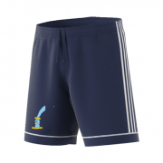 St Lawrence and Highland Court CC Adidas Navy Junior Training Shorts