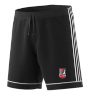 Sileby Town CC Adidas Black Training Shorts