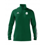 High Farndale CC Adidas Green Zip Training Top