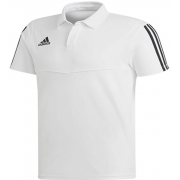 High Farndale CC Adidas White Polo