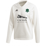 High Farndale CC Adidas Elite Long Sleeve Sweater