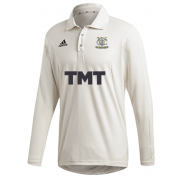 Woodley CC Adidas Elite Long Sleeve Shirt