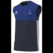 Merthyr CC Adidas Navy Training Vest