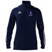Merthyr CC Adidas Navy Zip Training Top
