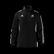 All Rounder Golf Adidas Black Zip Training Top