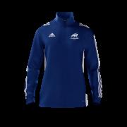 All Rounder Golf Adidas Blue Zip Training Top