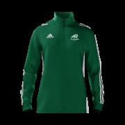 All Rounder Golf Adidas Green Zip Training Top
