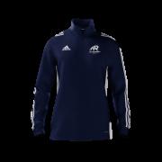 All Rounder Golf Adidas Navy Zip Junior Training Top