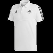 All Rounder Golf Adidas White Polo
