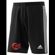 JML Cricket Adidas Black Junior Training Shorts