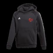 JML Cricket Adidas Black Junior Fleece Hoody