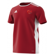 JML Cricket Red Junior Training Jersey