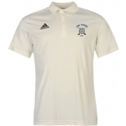Long Marston CC Adidas Pro Junior Short Sleeve Polo