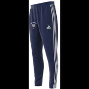 Long Marston CC Adidas Junior Navy Training Pants