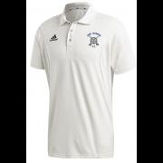 Long Marston CC Adidas Elite Junior Short Sleeve Shirt