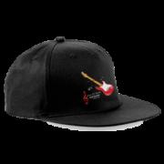 Sultans of Swing Black Snapback Hat