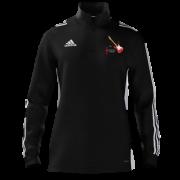 Sultans of Swing Adidas Black Zip Training Top