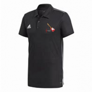 Sultans of Swing Adidas Black Polo