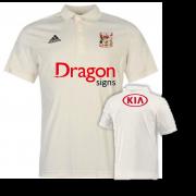 Cardiff CC Adidas Pro Junior Short Sleeve Polo