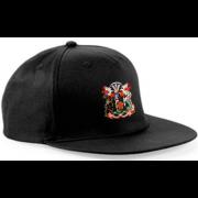 Cardiff CC Black Snapback Hat