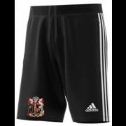 Cardiff CC Adidas Black Junior Training Shorts