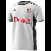 Cardiff CC White Junior Training Jersey