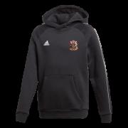 Cardiff CC Adidas Black Junior Fleece Hoody