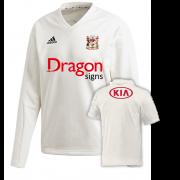 Cardiff CC Adidas Elite Long Sleeve Sweater